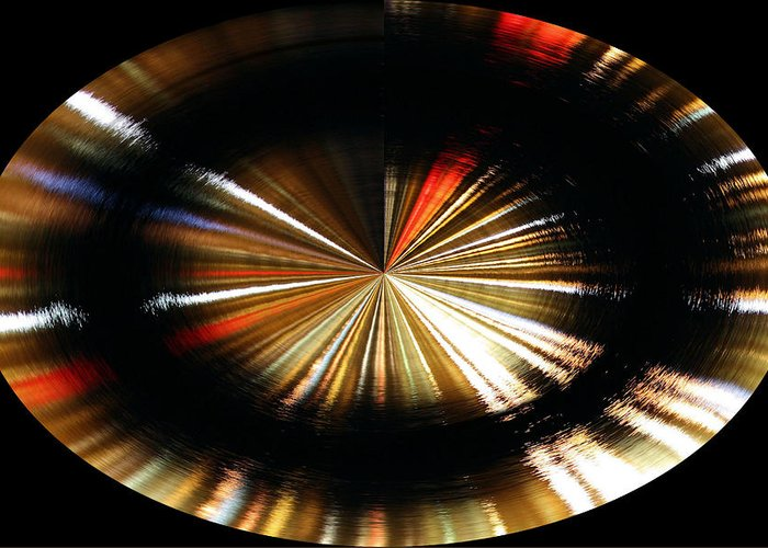 Spinning Greeting Card featuring the photograph Out Of Control by Kristin Elmquist