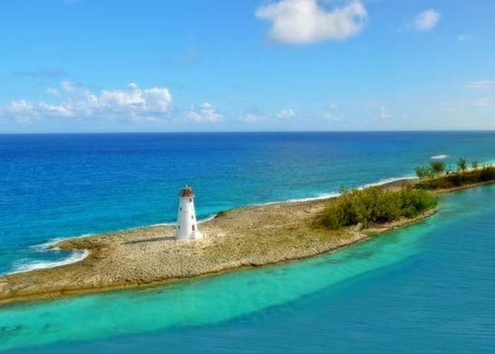 Water Greeting Card featuring the photograph Paradise Island by Kathy Jennings