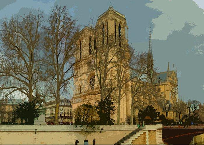 Paris Greeting Card featuring the photograph Paris 03 by Yuriy Shevchuk