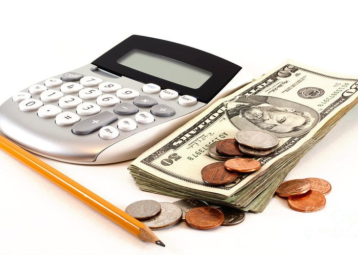 Pen Greeting Card featuring the photograph Personal Finance And Accounting by Blink Images