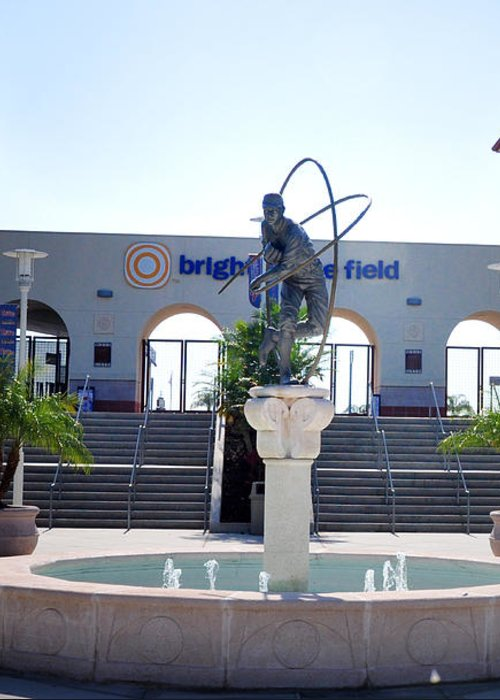 Phillies - Brighthouse Field Clearwater Greeting Card featuring the photograph Phillies - Brighthouse Field Clearwater by Bill Cannon