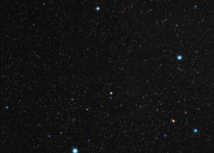 Phoenix Greeting Card featuring the photograph Phoenix Constellation by Eckhard Slawik