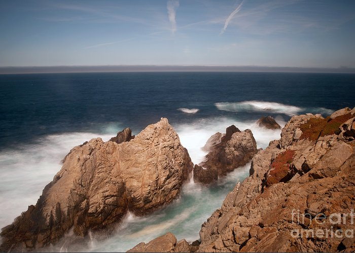 Point Lobos Greeting Card featuring the photograph Point Lobos Number One by Catherine Lau
