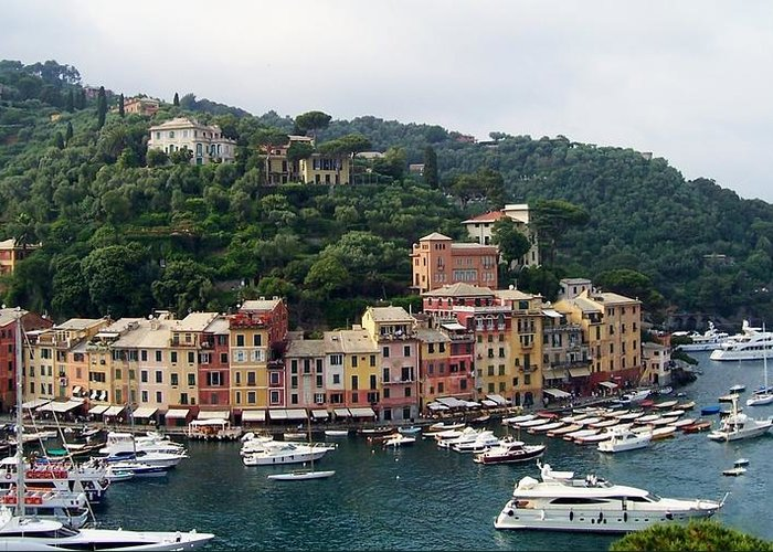 Europe Greeting Card featuring the photograph Portofino Dreaming by Marilyn Dunlap