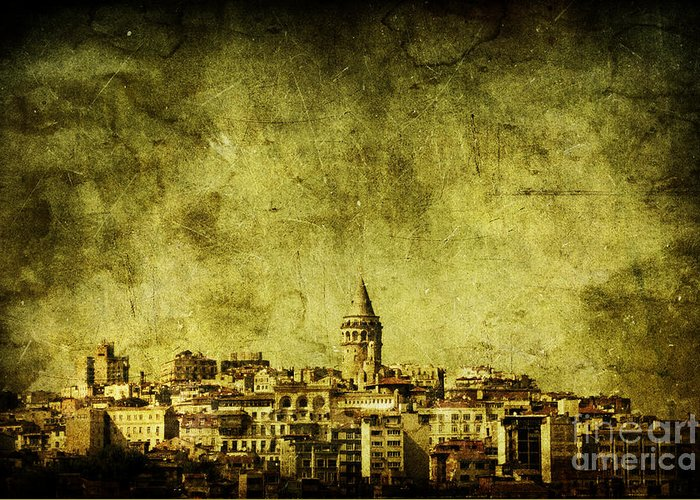 Istanbul Greeting Card featuring the photograph Recollection by Andrew Paranavitana