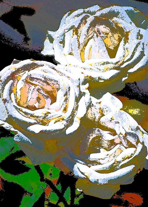 Floral Greeting Card featuring the photograph Rose 126 by Pamela Cooper