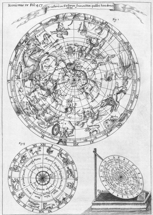1600s Greeting Card featuring the photograph Sciathericon For Determining Time by Middle Temple Library