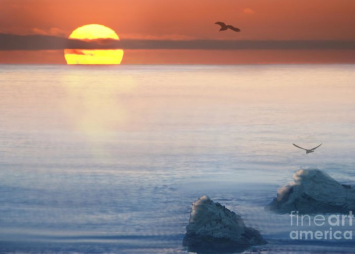Sea Greeting Card featuring the photograph Sea Magic by Betty LaRue
