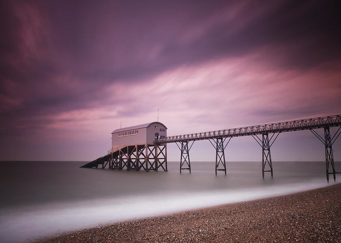 England Greeting Card featuring the photograph Selsey Lifeboat Station by Nina Papiorek