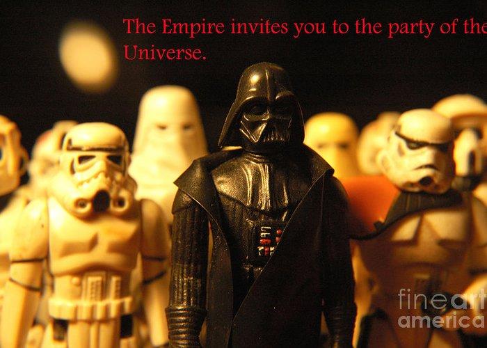 Star Wars Greeting Card featuring the photograph Star Wars Gang 5 by Micah May