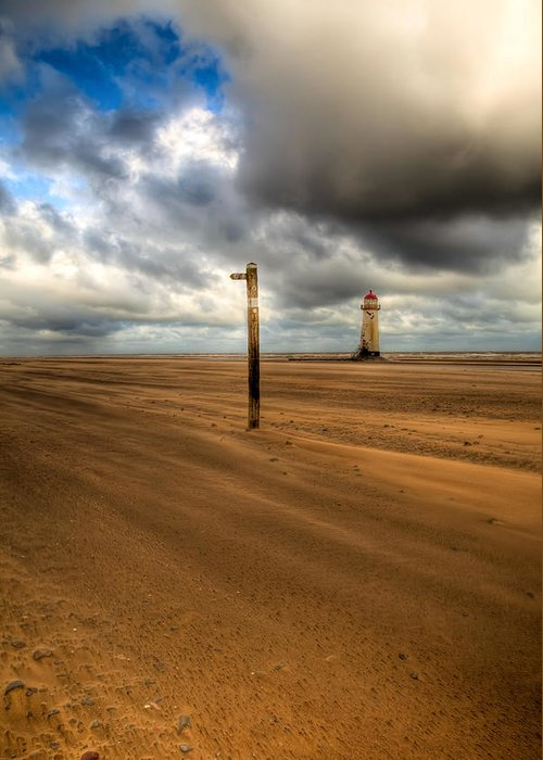 Hdr Greeting Card featuring the photograph Storm Brewing by Adrian Evans