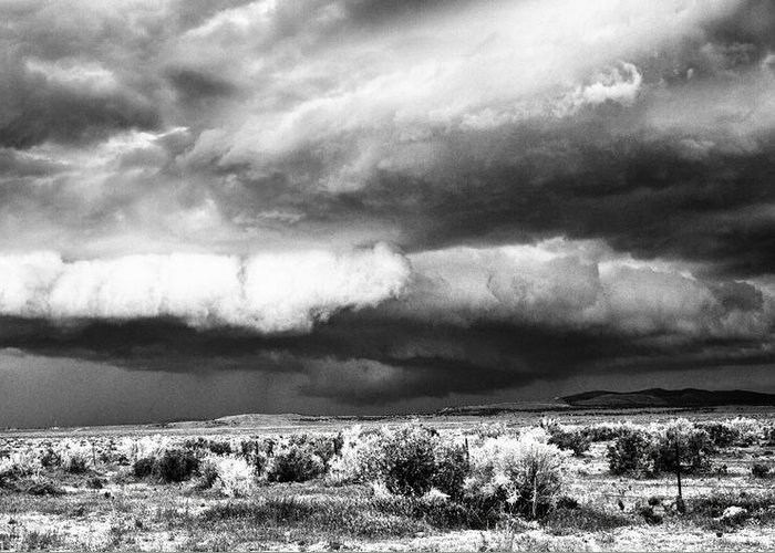 Storm Greeting Card featuring the photograph Storm Clouds by Greg Jones