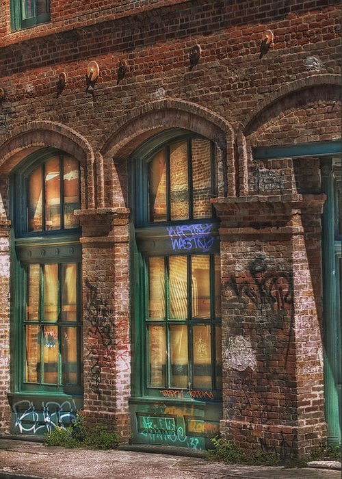 New Orleans Greeting Card featuring the photograph Tarnished by Brenda Bryant