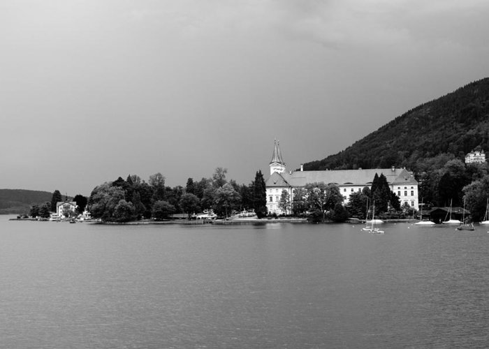 Lake Greeting Card featuring the photograph Tegernsee by Ralf Kaiser