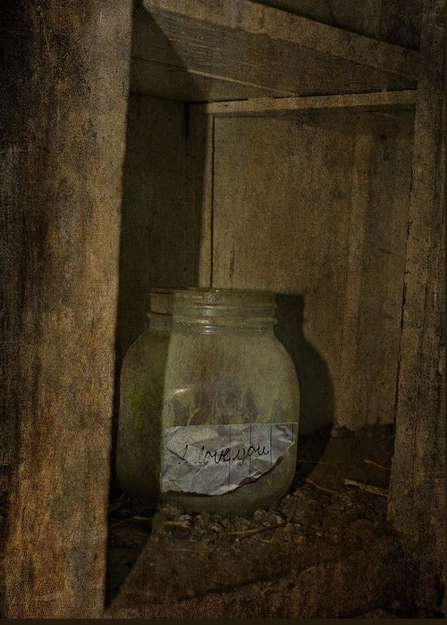 Jerry Cordeiro Photographs Framed Prints Greeting Card featuring the photograph The Endless Jar by JC Photography and Art