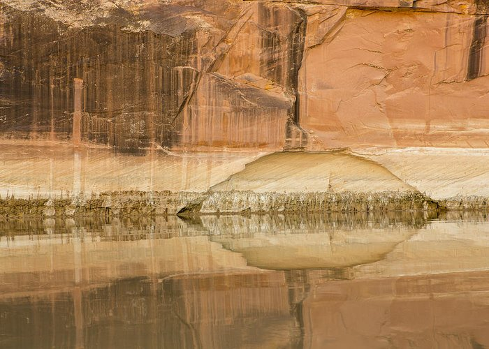 Arch Greeting Card featuring the photograph The Eye Of The River by Tim Grams