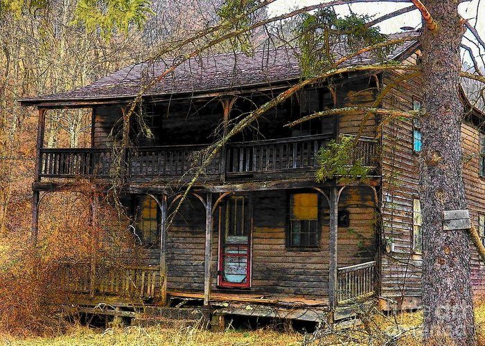 West Virginia Greeting Card featuring the photograph The Homestead by Joyce Kimble Smith