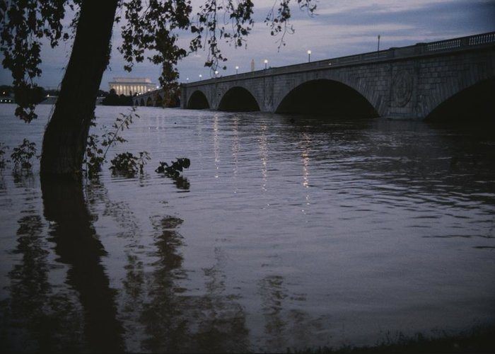 North America Greeting Card featuring the photograph The Potomac Rivers by Stephen St. John