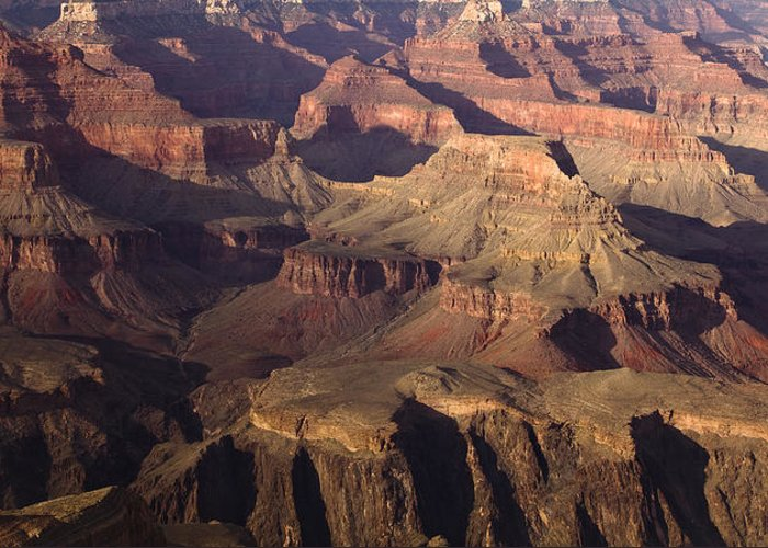 National Park Greeting Card featuring the photograph The Rugged Grand Canyon by Andrew Soundarajan