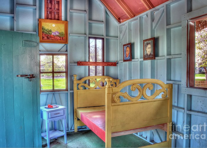 vincent Van Gogh Greeting Card featuring the photograph The Vincent Van Gogh Small House by Tamyra Ayles