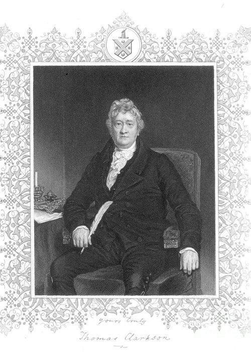 18th Century Greeting Card featuring the photograph Thomas Clarkson (1760-1846) by Granger