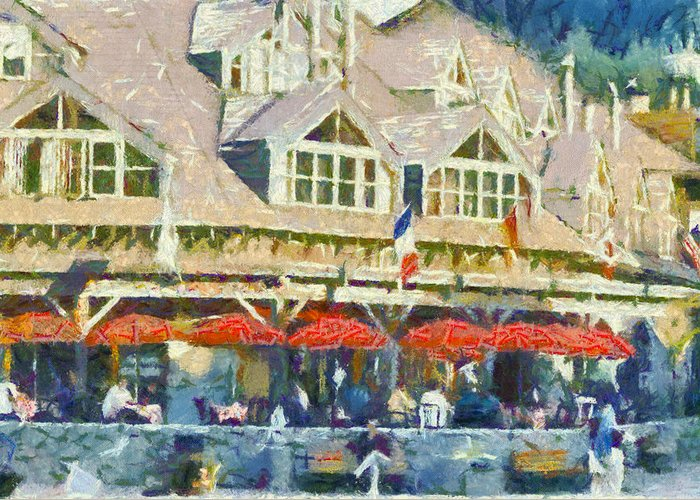 Whistler Greeting Card featuring the photograph Whistler One by Dale Stillman