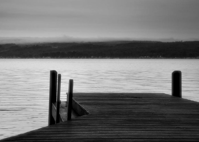 Keuka Lake Greeting Card featuring the photograph Wide Waters by Steven Ainsworth