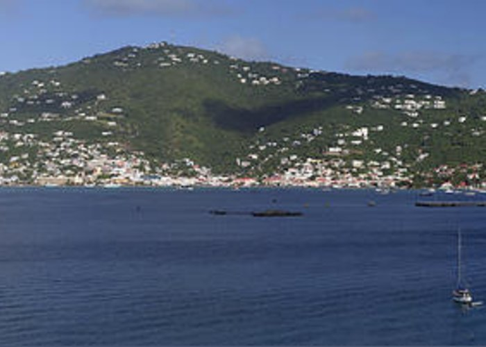 Charlotte Amalie Greeting Card featuring the photograph Charlotte Amalie by Gary Lobdell