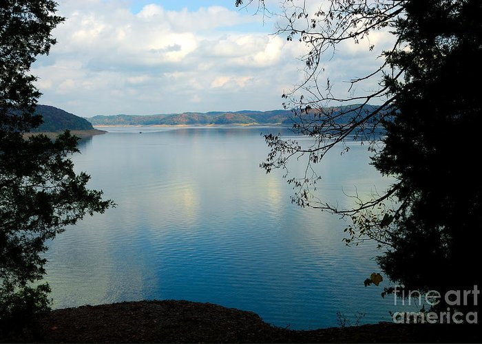 Cumberland Lake Greeting Card featuring the photograph Cumberland Lake by Anne Kitzman