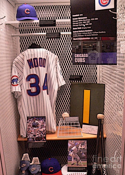 Kerry Wood Greeting Card featuring the photograph Kerry by David Bearden