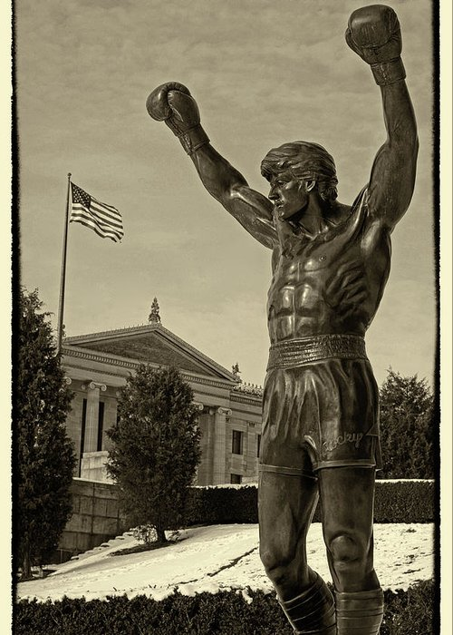 Rocky Greeting Card featuring the photograph Rocky by Jack Paolini