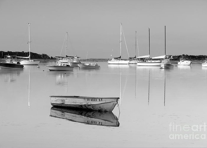 Sunrise Greeting Card featuring the photograph Sunrise In Osterville Cape Cod Massachusetts by Matt Suess