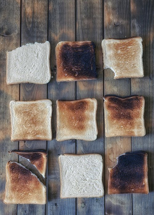 Toast Greeting Card featuring the photograph Toast by Joana Kruse