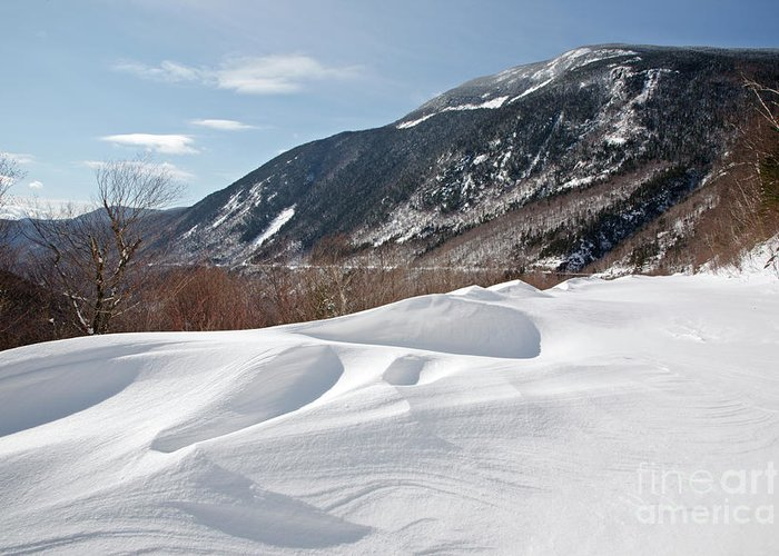 White Mountain National Forest Greeting Card featuring the photograph Crawford Notch State Park - White Mountains New Hampshire Usa by Erin Paul Donovan