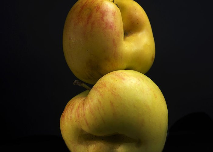 Agriculture Greeting Card featuring the photograph Apples by Bernard Jaubert
