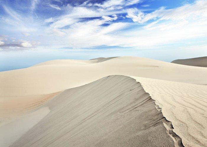 Desert Greeting Card featuring the photograph Desert by MotHaiBaPhoto Prints