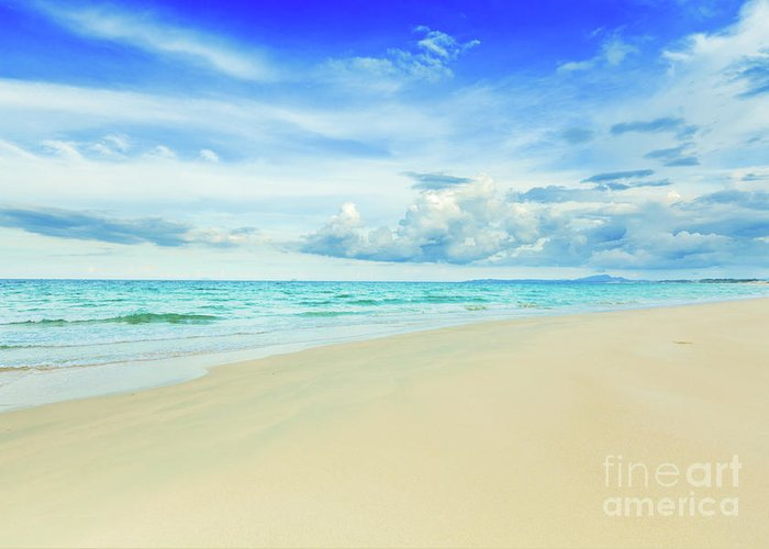 Bahamas Greeting Card featuring the photograph Beach by MotHaiBaPhoto Prints