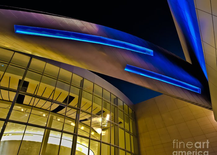 Architecture Greeting Card featuring the photograph Aero Push by Brian Tye