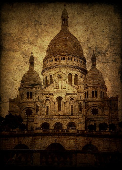 Architecture Greeting Card featuring the photograph Basilica by Andrew Paranavitana