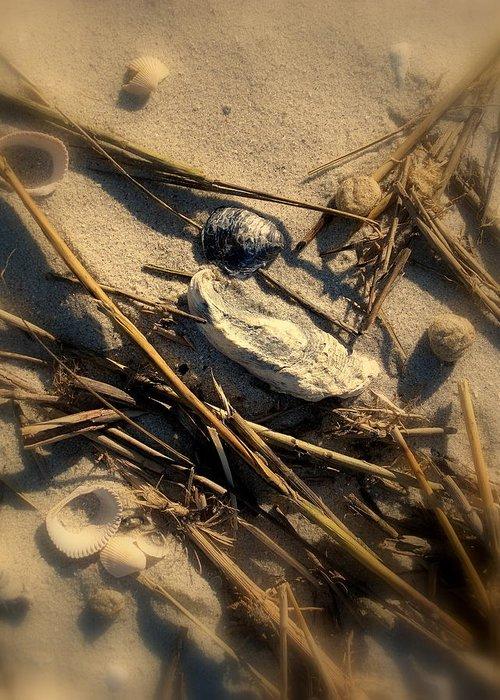 Beach Greeting Card featuring the photograph Beach Still Life by Susanne Van Hulst