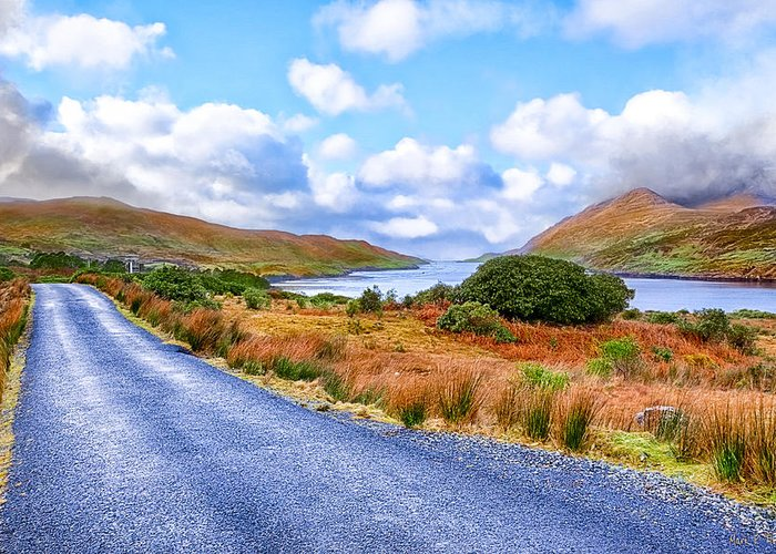 Galway Greeting Card featuring the photograph Beautiful Irish Countryside Of County Galway by Mark E Tisdale