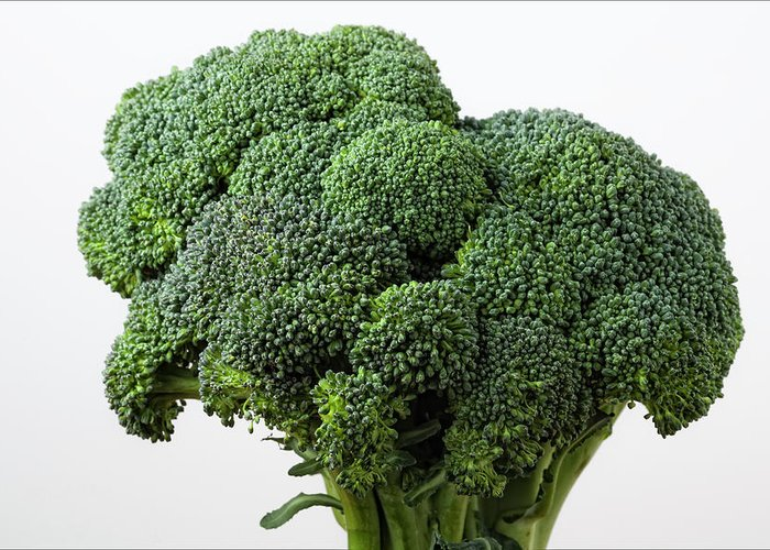 Broccoli Greeting Card featuring the photograph Broccoli by Robert Ullmann