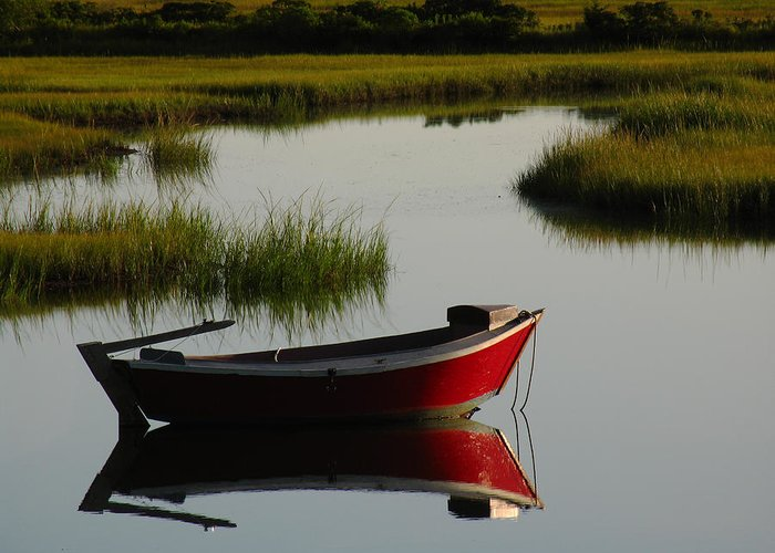 Solitude Greeting Card featuring the photograph Cape Cod Photography by Juergen Roth