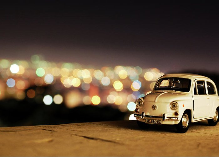 City Greeting Card featuring the photograph City Lights by Ivan Vukelic