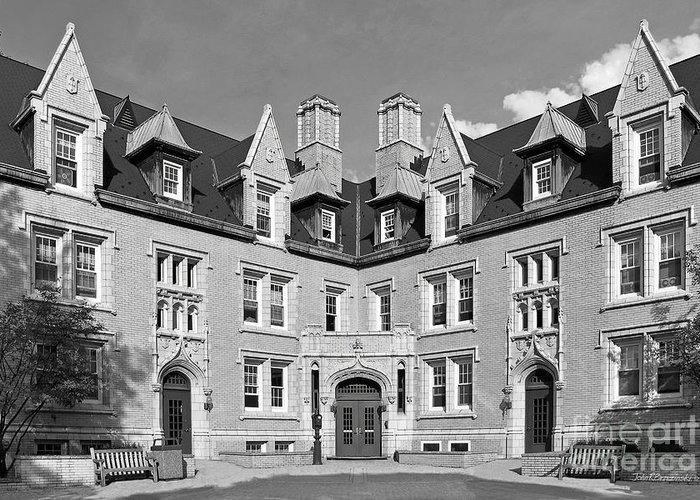 College Of Wooster Greeting Card featuring the photograph College Of Wooster Kenarden Lodge by University Icons