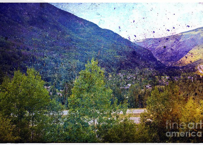 Landscape Greeting Card featuring the photograph Colors Of Vail by Madeline Ellis