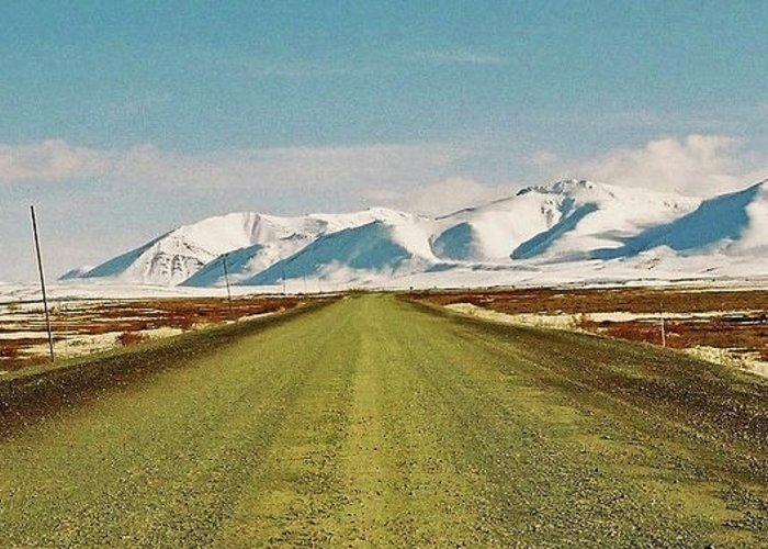North America Greeting Card featuring the photograph Dempster Highway - Yukon by Juergen Weiss