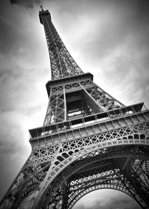 Europe Greeting Card featuring the photograph Eiffel Tower Dynamic by Melanie Viola