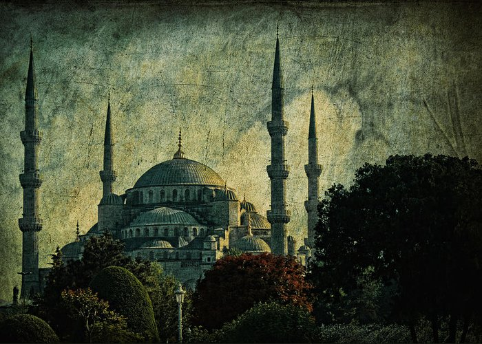 Turkey Greeting Card featuring the photograph Eventide by Andrew Paranavitana