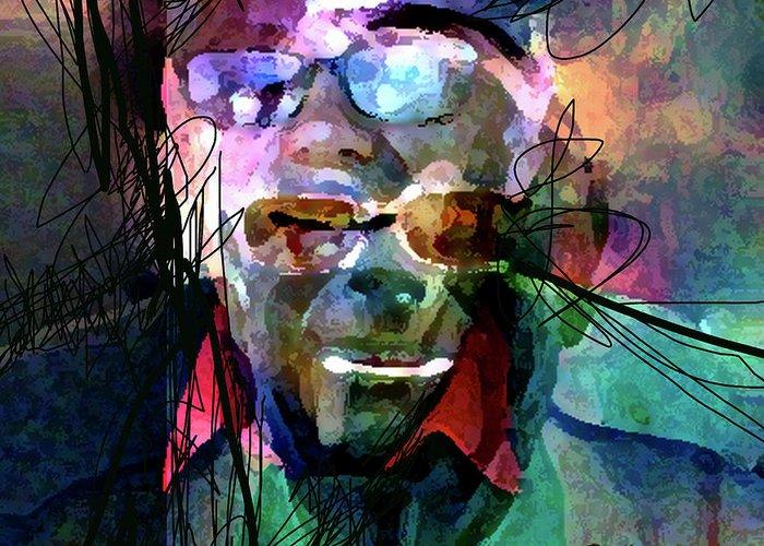 Excedrin Headache #17 Greeting Card featuring the digital art Excedrin Headache 17 by Dean Gleisberg